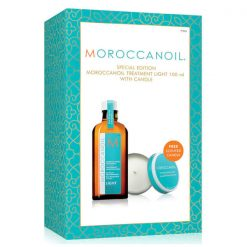 moroccanoil light 100ml with candle